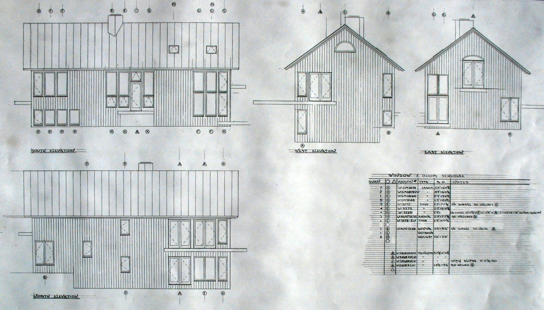 Brier House Elevations